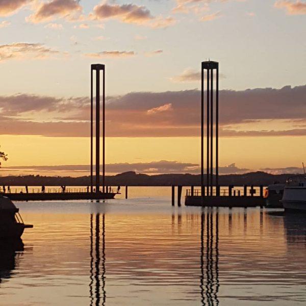 #feierabend ... 🤗🤗🤗 #ausspannen #genießen #urlaub #holiday #vacation #sonnenuntergang #sunset #see #bodensee #kinder ...