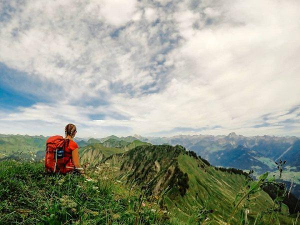 Bergtage sind meine Lieblingstage ⛰ • • • #mountainview #panorama #walserkamm #vorarlberg #österreich ...