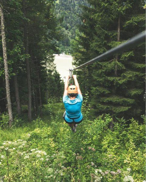 Unser Ausflugstipp fürs Wochenende! 🙌 Mit dem Flying-Fox-Golm über das Staubecken Latschau. 💨 ...