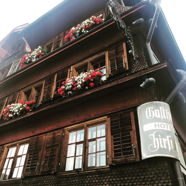 Hotel Gasthof Hirschen - since 1755 in the middle of the village Schwarzenberg. ...