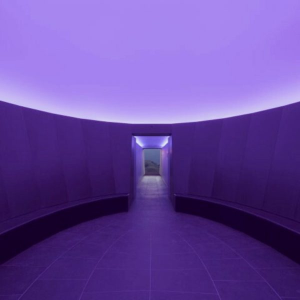 SKY SPACE LECH. World-famous American artist James Turrell designed a Lightroom where sky ...