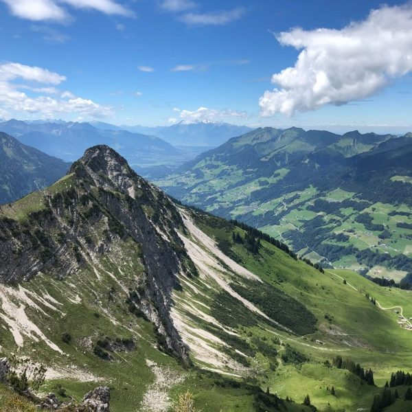 I came. I saw. My plans for the weekend. On the way to the Breithorn over the...