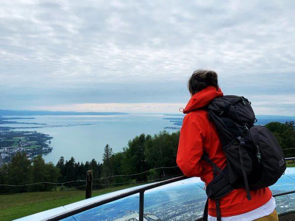 After work workout 😉 #mountainview #lakeconstance #bodensee #ausflug #grenzenlos #dreiländereck #bregenz #vorarlberg #pfänder ...
