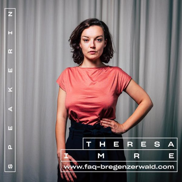 Theresa Imre diskutiert am 6.9. 🗯 Tickets & Programm ab Mitte Juli! #whatthefaq ...
