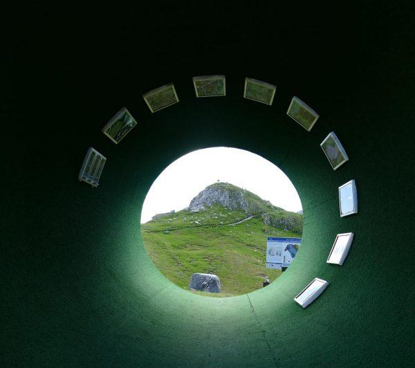 Einblicke. Durchblicke. Themenwanderweg. Der grüne Ring auf dem Rüfikopf puren Wandergenuss und traumhafte ...