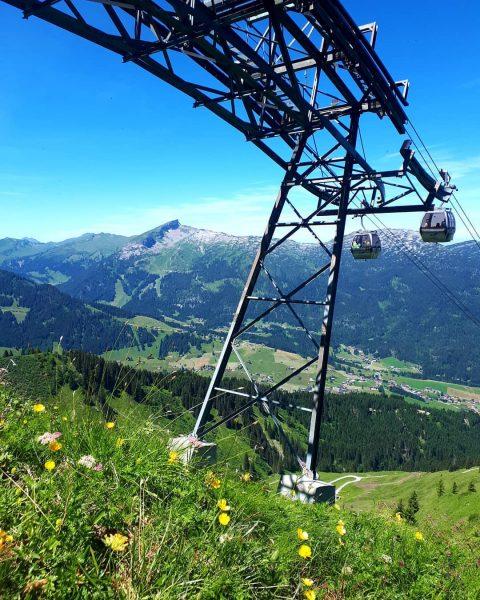 Kanzelwahnbahn, Blick auf den Ifen #riezlern #kleinwalsertal #okbergbahnen #visitvorarlberg #kanzelwand #ifen