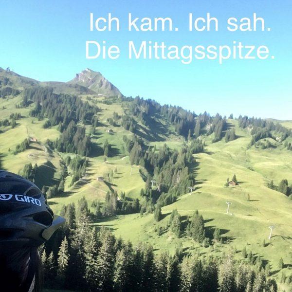 Tolle Abendrunde mit dem Bike 🌼 #ferienwohnung #berg170 #venividivorarlberg #damüls #damülsmellau #faschina #bregenzerwald ...