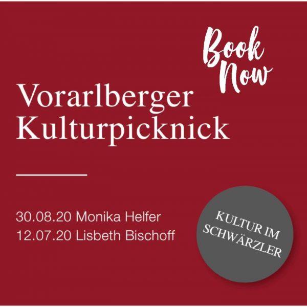 Diesen Sonntag, 12.07. findet im Hotel Schwärzler das erste Vorarlberger Kulturpicknick mit Lisbeth ...