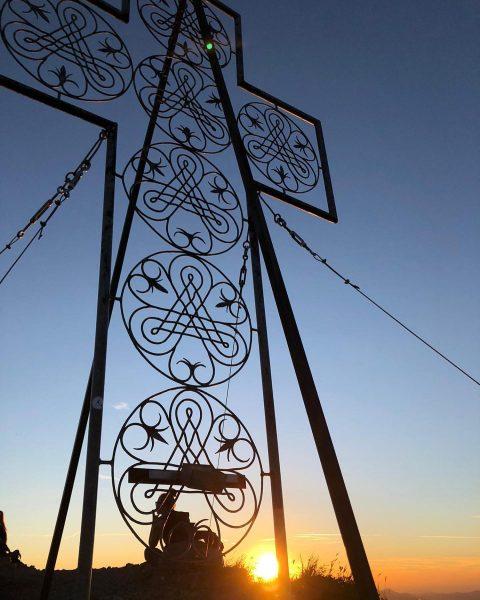 Ich kam. Ich sah. Den Sonnenuntergang. . . . . #mondspitze #brandnertal #bürserberg ...