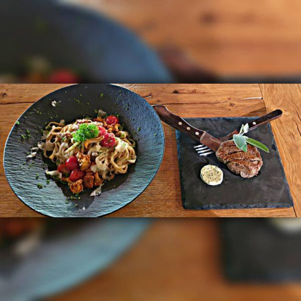 In unserem Bergrestaurant @rufana_alp gibt es wunderbares ESSEN. 😋☺🍽🍷 #rufanaalpin #rufanaalp #rufana #bergrestaurant ...