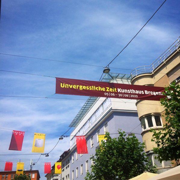 Hello Bregenz! #kunsthausbregenz #unprecedentedtimes #visitbregenz