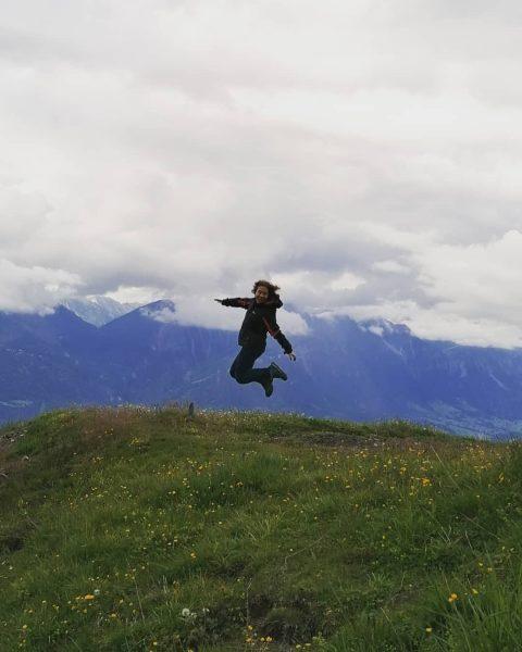 Nicht der Berg ist es, den man bezwingt, sondern das eigene Ich ⛰️ ...