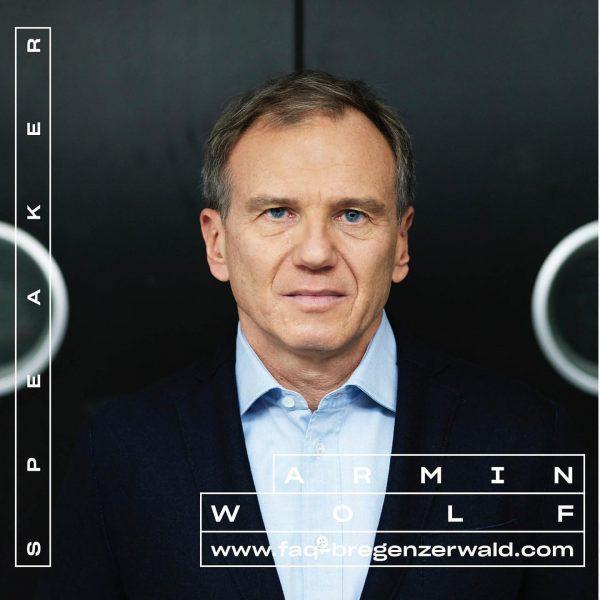 Armin Wolf spricht am 5.9. 💬 Tickets & Programm ab Mitte Juli! #whatthefaq ...