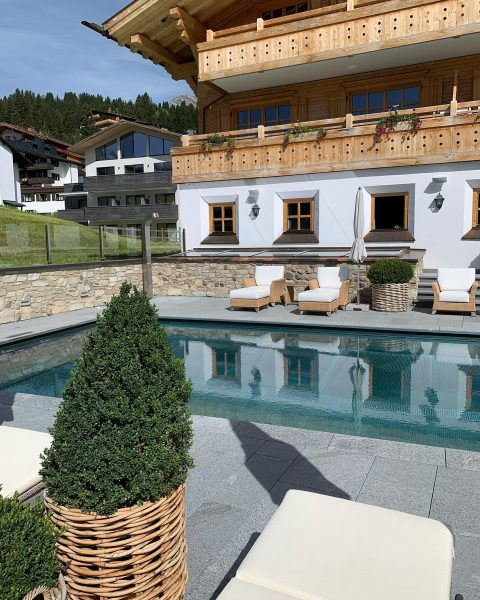 We provide the answer to our last question-our outdoor pool has been filled ...