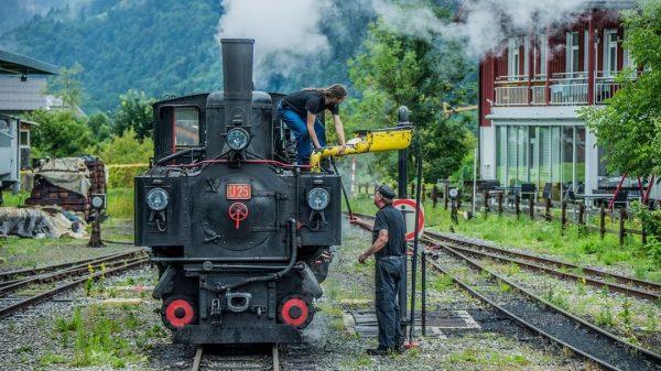 #vorarlberg #visitvorarlberg #bregenzerwald #visitbregenzerwald #wälderbähnle #bregenzerwaldbahn #museumsbahn #wasserkran #wasserfassen #bezau