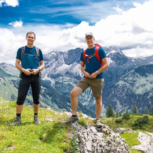 """Alp.Wanderung 🏔🐂🧀🥾 Die Alpwirtschaft ist in Vorarlberg im wahrsten Sinne des Worte """"die ..."""