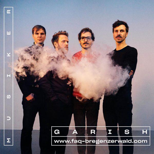 Garish musiziert am 4.9. 🎶 Tickets & Programm ab Mitte Juli! #whatthefaq #faqbregenzerwald ...