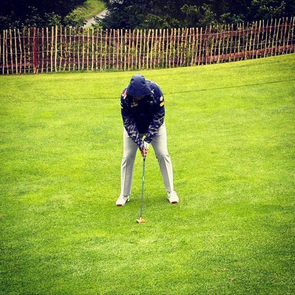 Platzrunde im Regen 🌧 Theorie heute auch bestanden ✅ #lifeisgood #urlaub #golf #brand ...