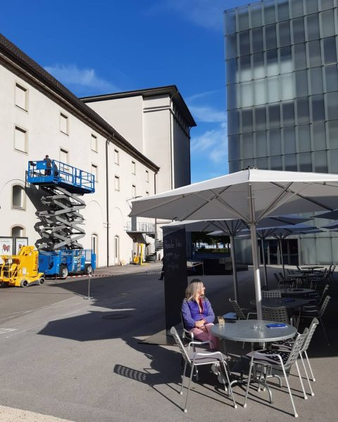 in preparation for KUB Sommer, Open Air Cinema! We start on Wednesday 22. ...