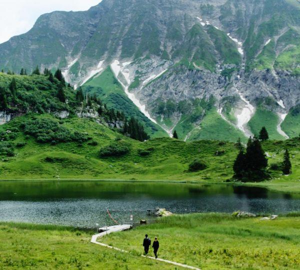 KÖRBERSEE • Den Bregenzerwald verbinde ich meist mit den sanften Hügeln um Andelsbuch, ...