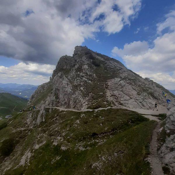 Kanzelwandspitze ,leicht überlaufen von einer Klettersteiggruppe #Kleinwalsertal #Österreich #kanzelwand Kanzelwand