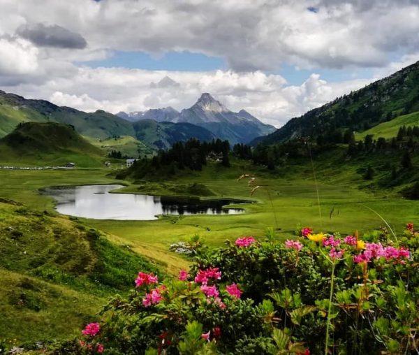 #hochtannberg #kalbelesee #bregenzerwald #vorarlberg #austria #home #nature #landscape #mountains #alpineflowers #alpineroses #clouds #placetobe ...