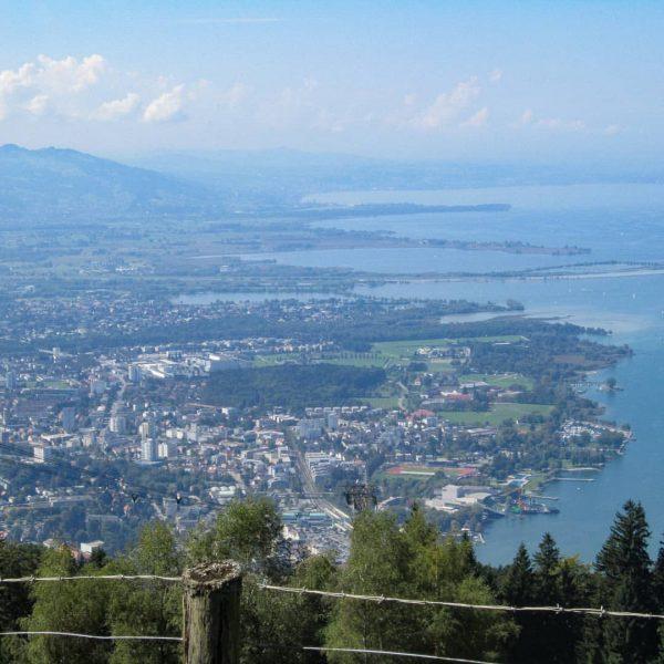 Guten Morgen Ihr Lieben! Heute mit einem Blick über Bregenz und den Bodensee ...
