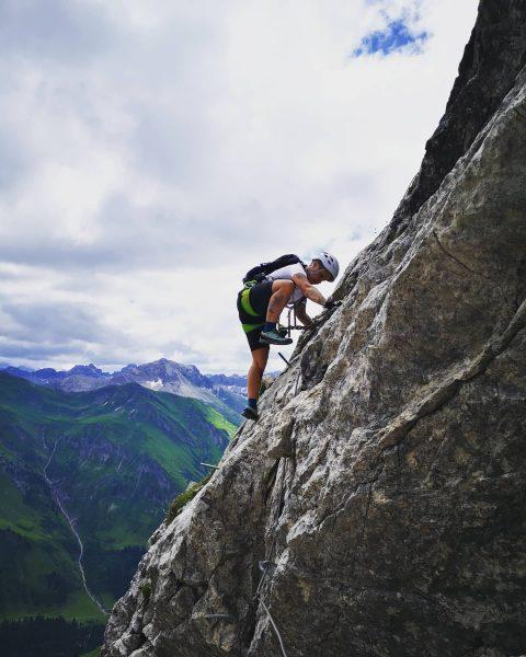 An awesome climbing day ⛰️😍🍀💪Ein wunderschöner Klettersteig das Karhorn. . . . . ...