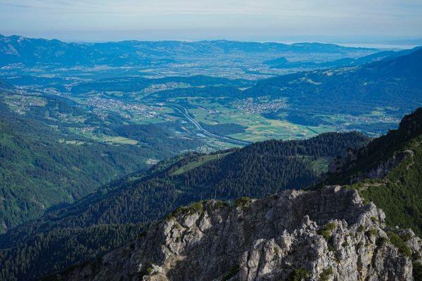 Ich kam, ich sah, fast das ganze Ländle! Wer Vorarlberg von oben betrachten ...