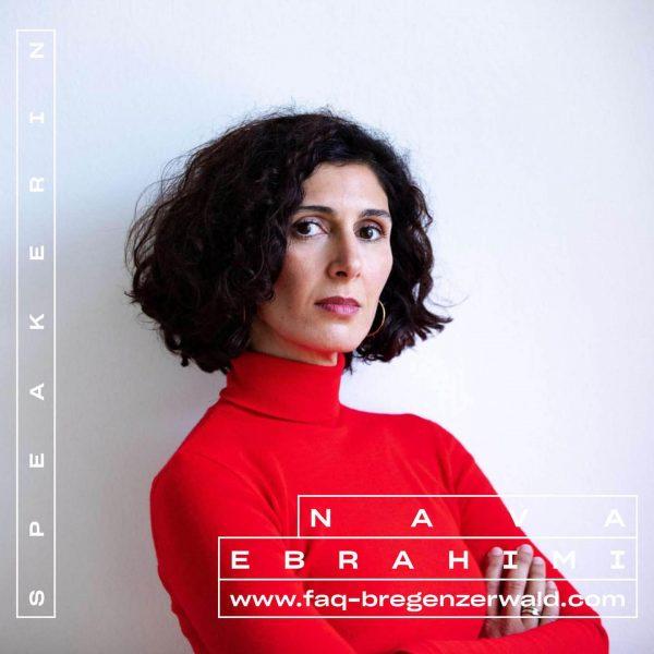 Nava Ebrahimi liest am 1.9. 📖 Tickets & Programm ab Mitte Juli! #whatthefaq ...