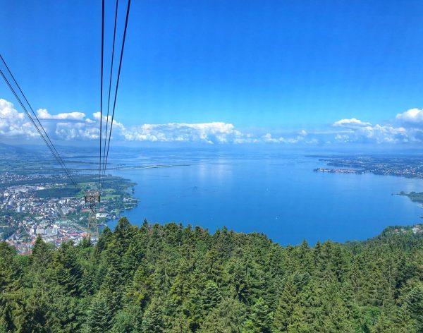 Au sommet. #Bodensee #Bregenz #Pfänder #Pfänderbahn #lacdeconstance #lac #foret #forest #austria #germany #switzerland ...