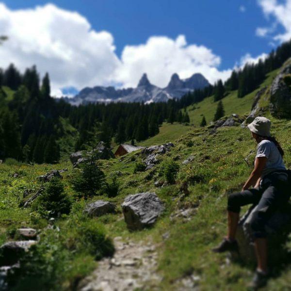 Wildromantische Wege führten uns zur Lindauer Hütte. Das Gauertal fasziniert mich immer wieder ...