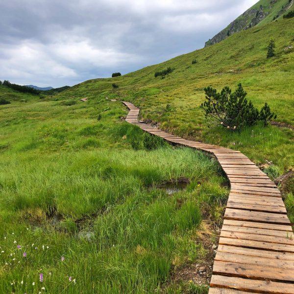 Wormser Höhenweg mit Kreuzjoch und Rosskopf, Abgang über den Wiegensee⛰☀️ #montafon #landhaustorghele #wandern ...