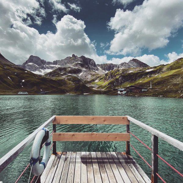 • Ich kam. Ich sah. #Zürsersee. • - - - - #venividivorarlberg #visitvorarlberg #mehrraummehrzeit #lechzuers #arlberg #heimat...