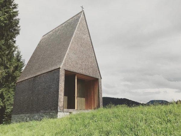 Salgenreute Kapelle #bernadobaderarchitects #krumbach Krumbach, Vorarlberg