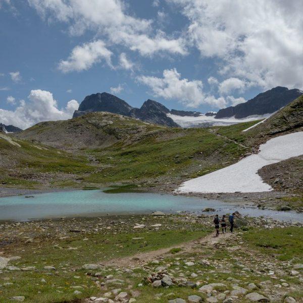 I came. I saw. Mountain panorama. Hike around the Hohes Rad in the ...