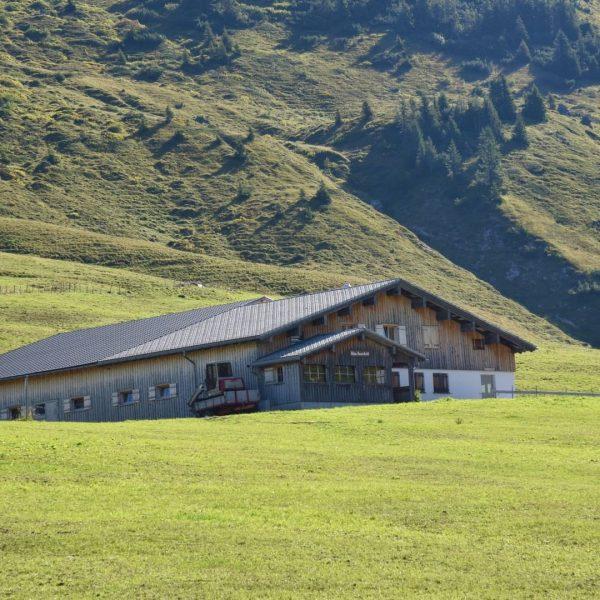 """#28 Sennalpe der KäseStrasse Bregenzerwald """"Alpe Unterauenfeld"""". Eine traumhafte Wanderung führt von Warth ..."""