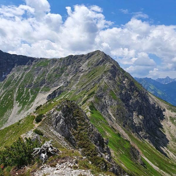 6. Tag im Allgäu - Walser Hammerspitze über Kanzelwand, hinab über Kuhgehrenspitze nach ...