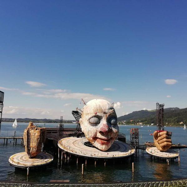 Bregenzerfestspiel 2020 leider nicht ,aber 2021 soll es wieder klappen. #bodensee #butyfull #diebodenseeschifffahrt ...