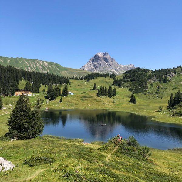 Der Körbersee🌿 #see #körbersee #Natur #bregenzerwald #vorarlberg #österreich #venividivorarlberg Körbersee