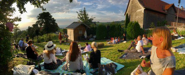 Mit Freunden jetzt: Stereo Ida beim Kulturpicknick in Eichenberg #vorarlbergerkulturpicknick