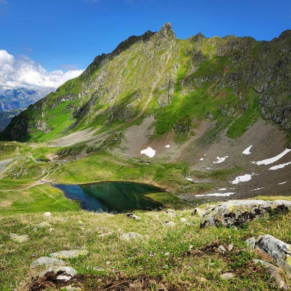 Nature 💚 us Ich kam Ich sah Das Herz Vorarlbergs #herzsee #hochjoch #vorarlberg ...