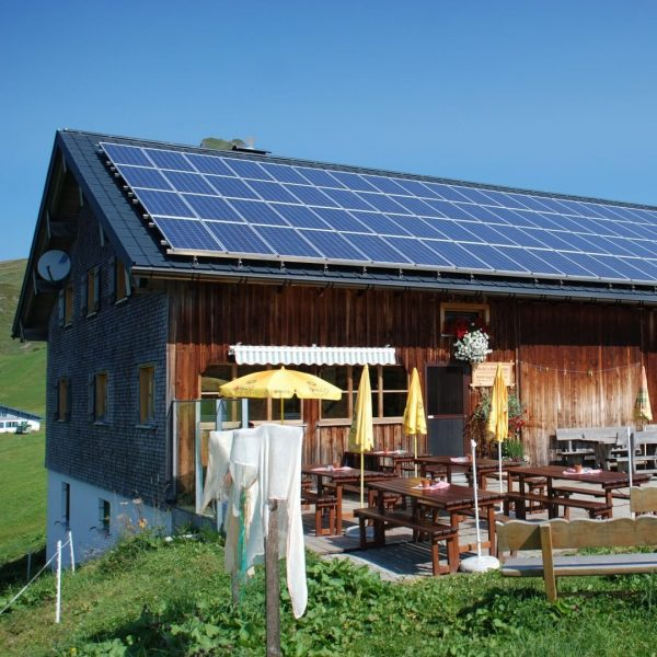 """#27 Sennalpe der KäseStrasse Bregenzerwald """"Alpe Uga"""". Am Fuße der Damülser Mittagsspitze liegt nur wenige Gehminuten von..."""