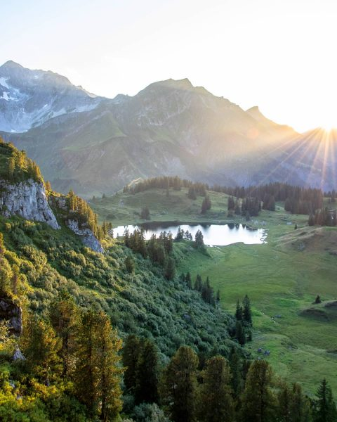 A little hidden gem in the Austrian Alps! 🇦🇹📷😍 #vorarlberg #alps #hike Warth-Schröcken