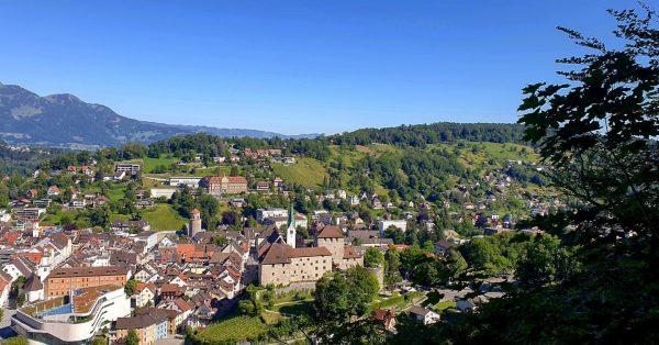 Blick vom Niedern Känzele auf die Stadt Feldkirch.! #feldkirch #blickauffeldkirch #stadtfeldkirch #visitfeldkirch #anderfrischenluft ...