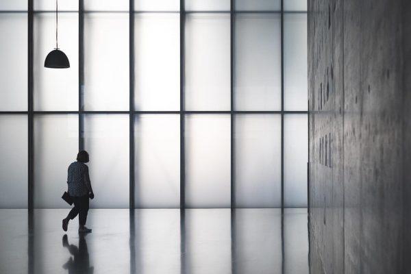 Kunsthaus Bregenz, Austria - Peter Zumthor, 2020 Showing a special exhibition 'Unprecedented Times' ...