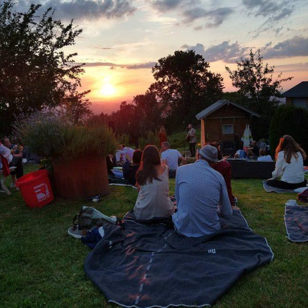 when everything comes together. #vorarlbergerkulturpicknick @bodenseevorarlberg Eichenberg, Austria