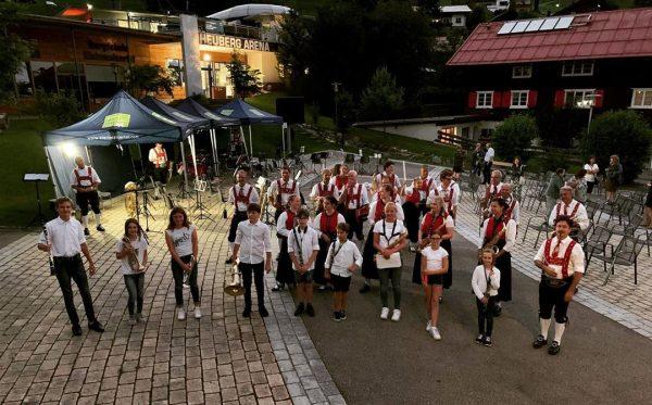 Starker Auftritt des Nachwuchses beim Sommerkonzert in Hirschegg! . . . #jugendmusiziert #kleinwalsertal ...