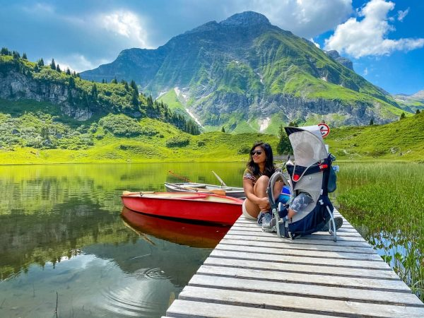 Beautiful lake in regio Vorarlberg in Austria 😍 Körbersee received award in 2017 ...