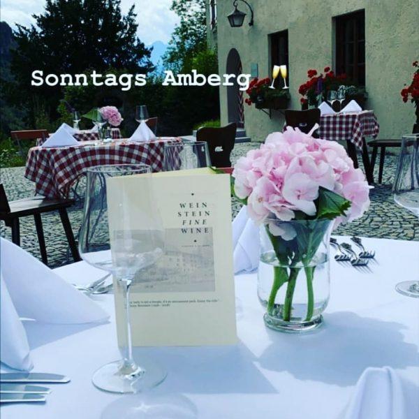 Sonntags Amberg - Ein geschmackvoller Abend unter freiem Himmel! 🥰🍽️🍾🍷 Der Organisator (@sebastian_weinstein_finewine) ...